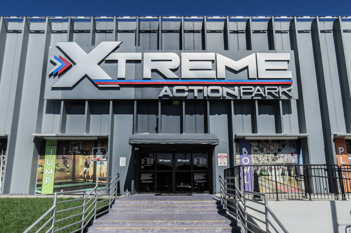 Xtreme Action Park. Fort Lauderdale. General Contractor Ramcon Corp