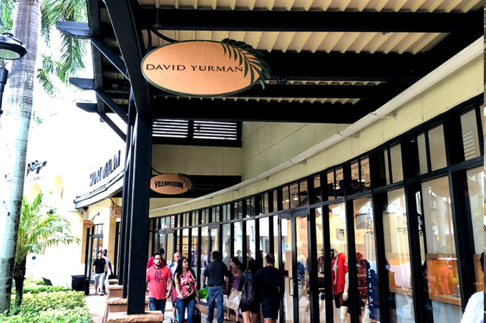 General Contractor Ramcon Corp. David Yurman store. Sawgrass mills. Sunrise, Florida.