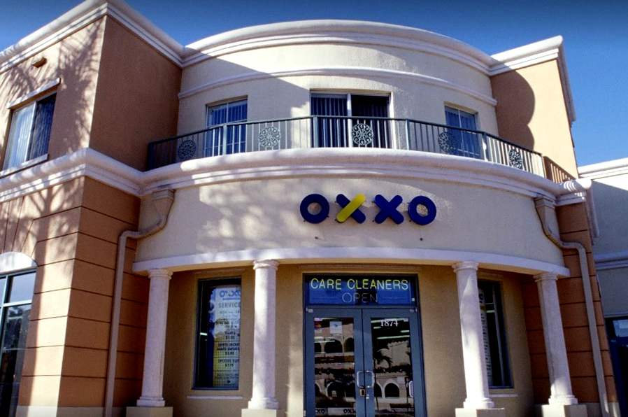 OXXO Care Cleaners, Hollywood , Florida.General Contractor Ramcon Corp