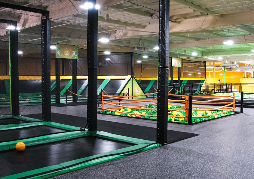 The Ultimate Trampoline Park in Ft Lauderdale, Florida, General Contractor Ramcon Corp