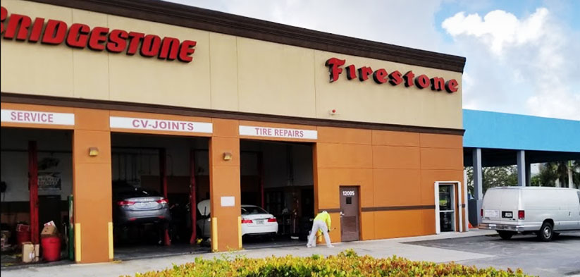 Firestone Building kendall Miami - , Ramcon corp project